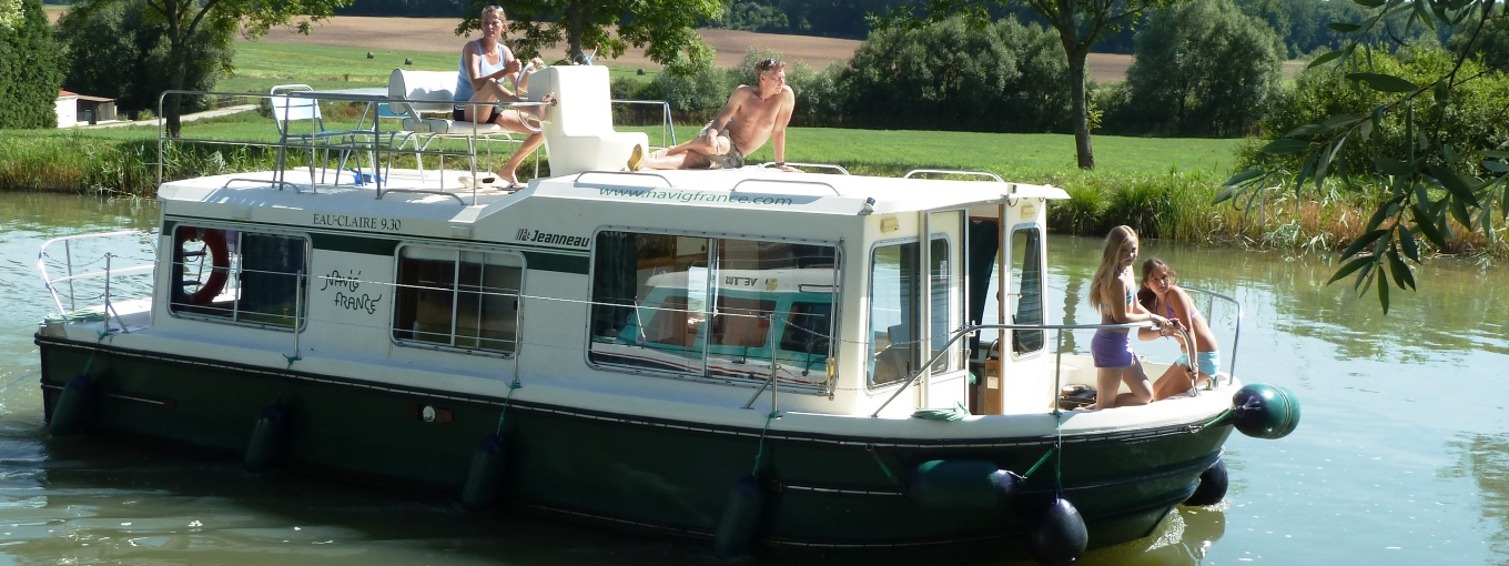 Unsere Kanal-Boote EAUCLAIRE 930 FLY | Navig\'France